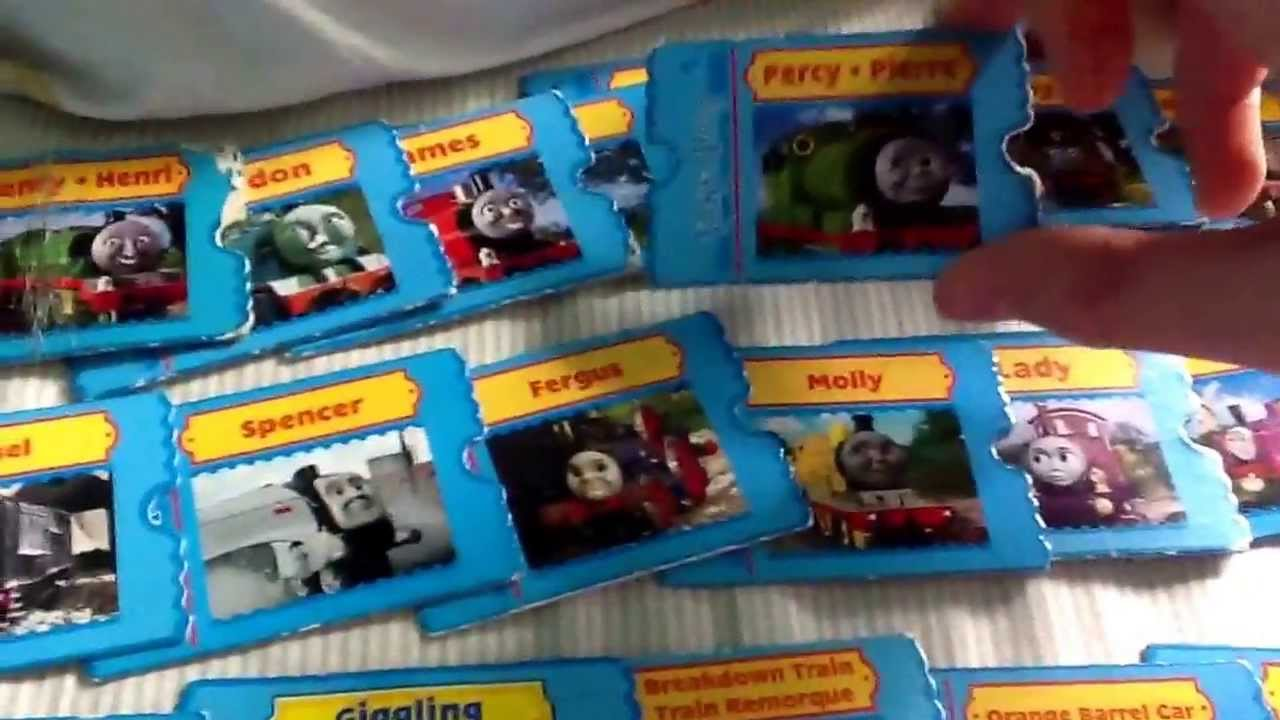 I found some of my old Thomas take along cards and more