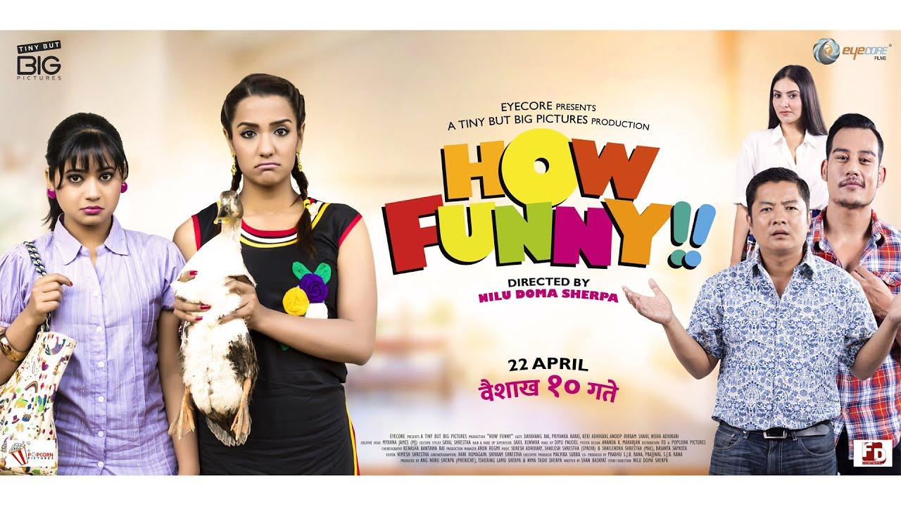 "New Nepali Movie 2017 ""How Funny"" Full Movie HD"