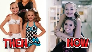 Dance Moms - Full Cast Then And Now (From 2011 to 2017)