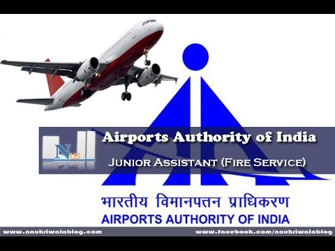 AIRPORTS AUTHORITY OF INDIA NEW DELHI RECRUITMENT FOR THE POST OF JUNIOR ASST