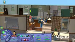 The Sims 2 University - Gameplay