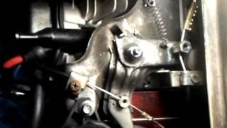 два тросика газа на мотособаке