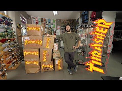 UNBOXING THRASHER MAGAZINE!!!