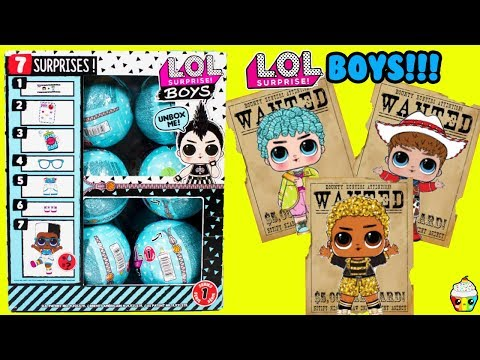 LOL Boys Series FULL CASE The Hunt For King Bee, His Royal High-Ney, Do Si Dude Cupcake Kids Club