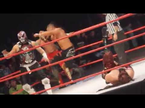 #Wrestling Eddie Edwards y Pentagon Jr vs Hellspawn y Gladiator Angel.
