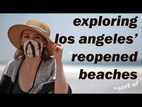 They Re-opened LA's Beaches. Sort Of.