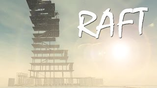 TRYING TO TOUCH THE CLOUDS! (20 Story Raft) | RAFT [2]