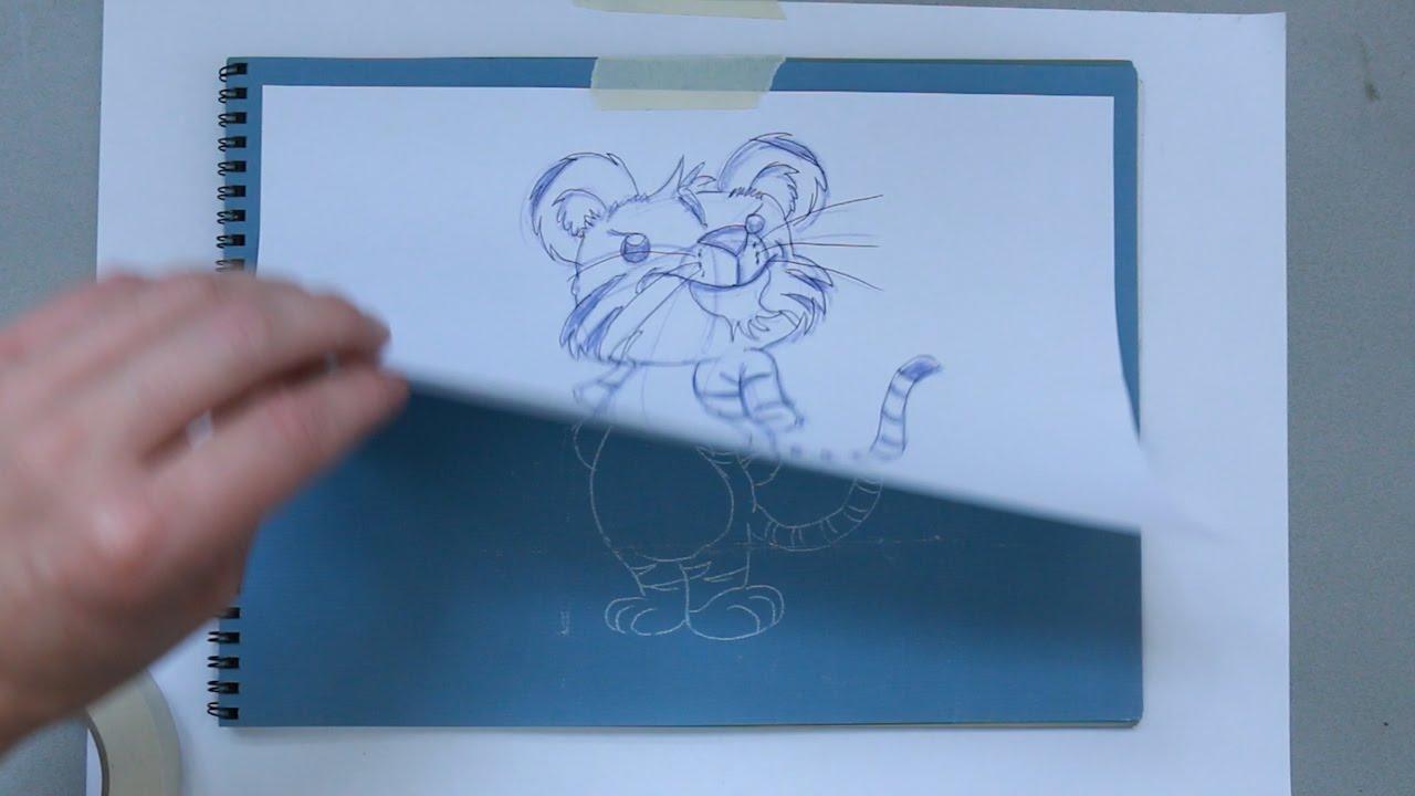Hoe zet je een schets over op een ander stuk papier stefantekent youtube - Hoe een stuk scheiden ...