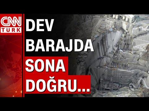 Dev barajda sona doğru... CNN TÜRK ekibi Yusufeli Barajı'nın şantiyesine girdi