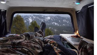 Winter Truck Camping iฑ -7° Degrees