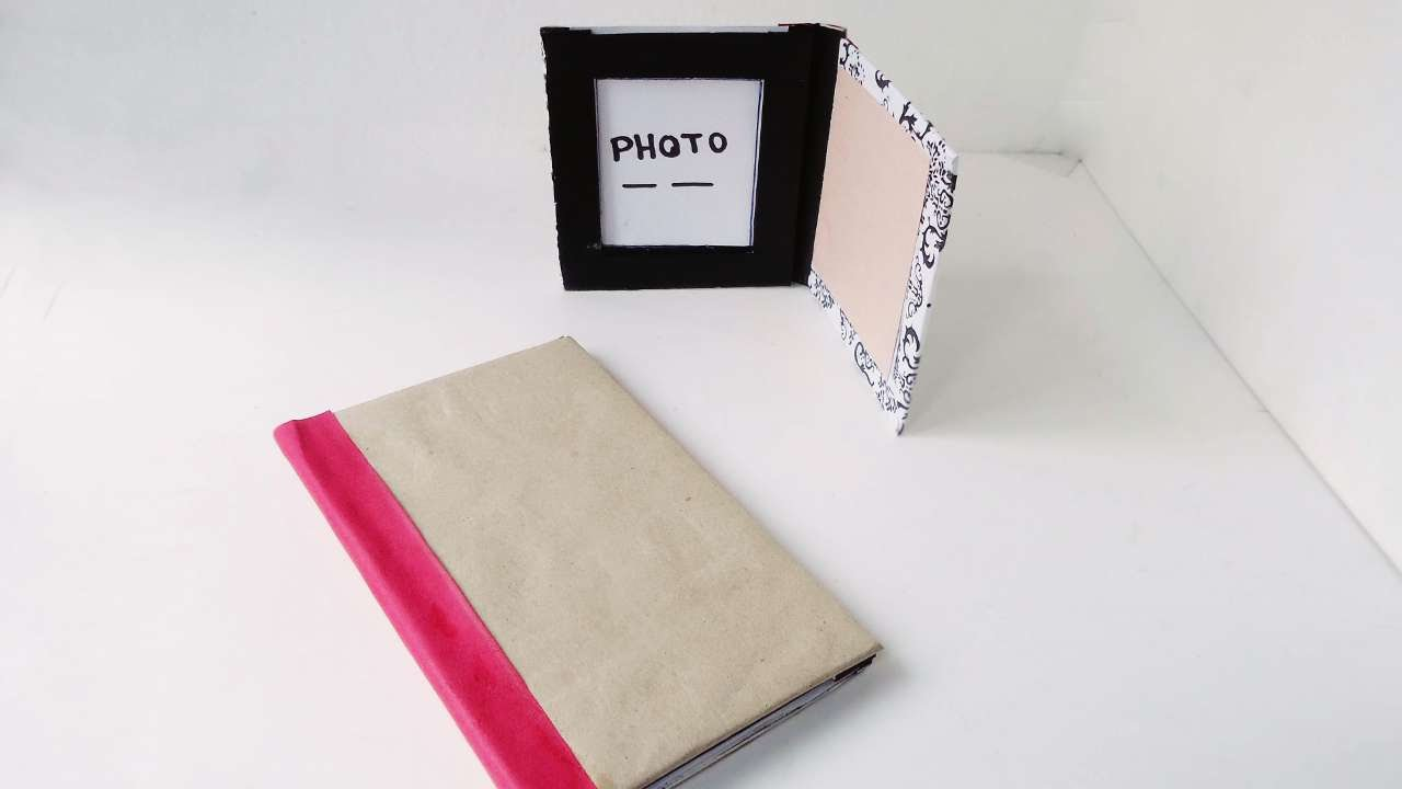 How To Make A Flip Photo Frame - DIY Crafts Tutorial - Guidecentral ...