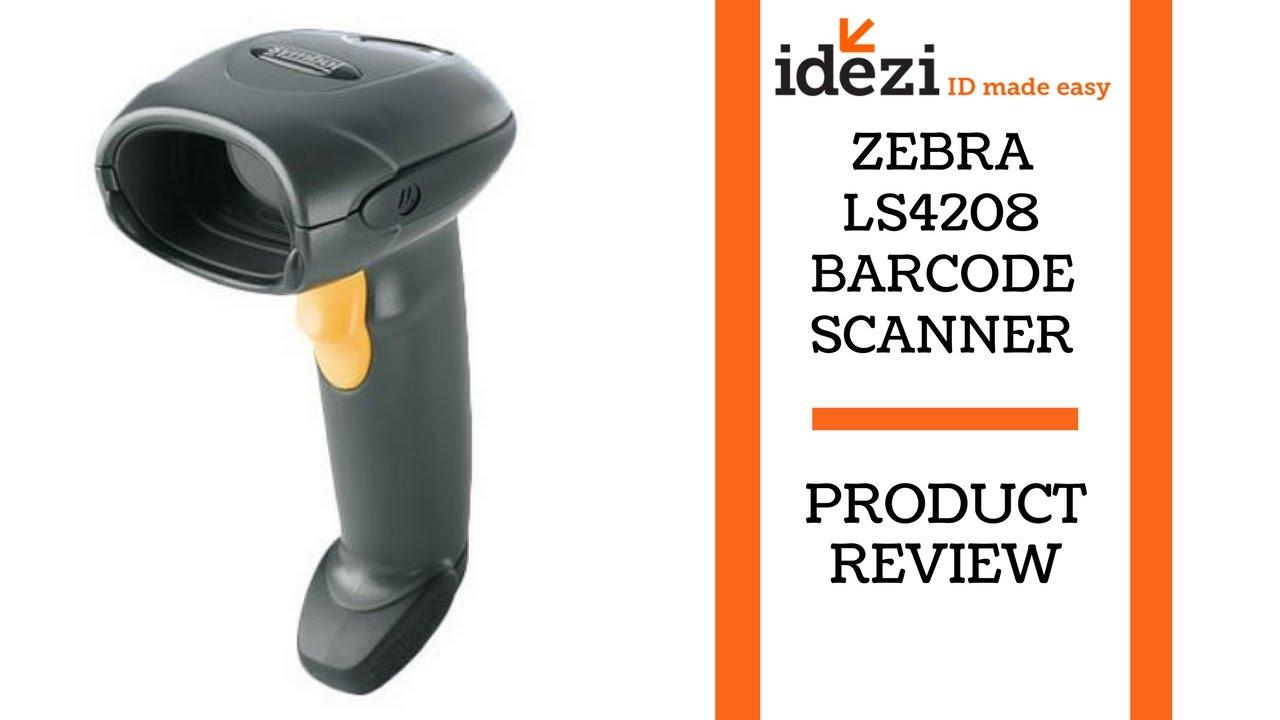 Zebra ls4208 barcode scanner idezi id made easy youtube zebra ls4208 barcode scanner idezi id made easy biocorpaavc Gallery