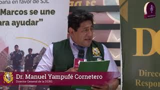 Tema: UNMSM lleva ayuda a damnificados de San Juan de Lurigancho