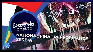 Hurricane - Hasta La Vista - Serbia 🇷🇸 - National Final Performance - Eurovision 2020