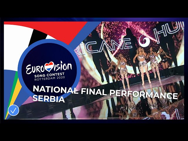 Hurricane - Hasta La Vista - Serbia 🇷🇸 - National Final Performance - Eurovision 2020