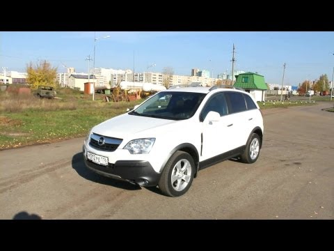 2008 Opel Antara. Start Up, Engine, and In Depth Tour.