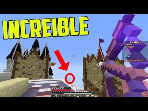EL FLECHAZO MAS INCREIBLE!!!!! - Egg Wars Minecraft