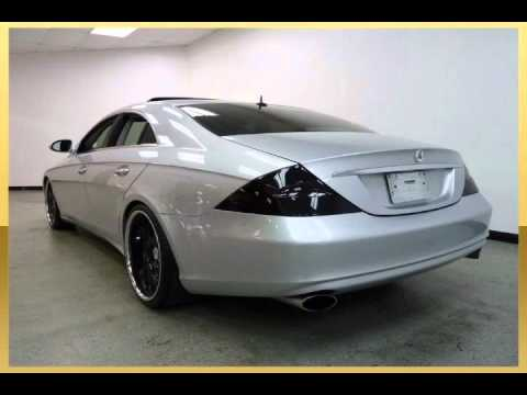 2006 mercedes benz cls500 silver arlington tx youtube. Black Bedroom Furniture Sets. Home Design Ideas