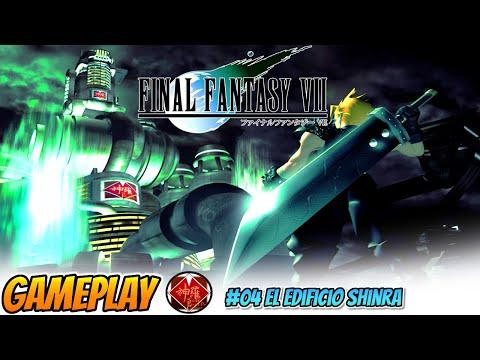 🎮Final Fantasy VII Traducido con MODS 04 El Edificio Shinra - DIRECTO HD 1080 en Español