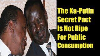 Secret Deal In Kisumu To Make Uhuru Prime Minister In 2022