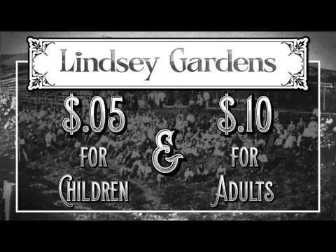 Salt Lake City History Minute - Lindsey Gardens
