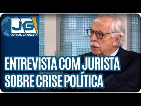Rodolpho Gamberini entrevista Modesto Carvalhosa, jurista, sobre a crise política