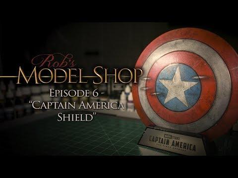 "Rob's Model Shop - Episode 6 - ""Captain America Shield"""