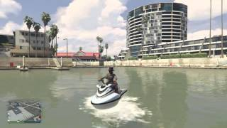 How to get a free jet ski boat on gta 5