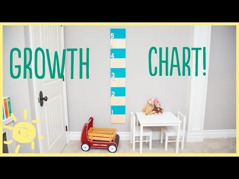 DIY | Growth Chart (fun & easy!!!)