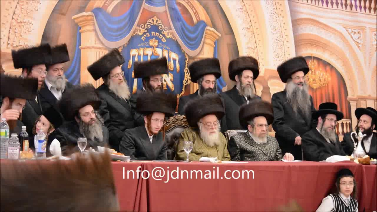 Toldos Aharon Last Sheva Brochos - Shevat 5777