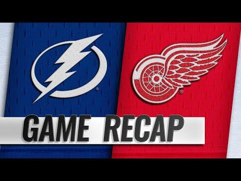 Lightning score five straight goals in 5-4 win