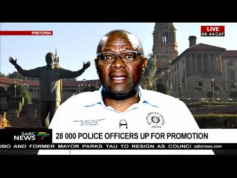 SAPU on 28000 police officers up for promotion