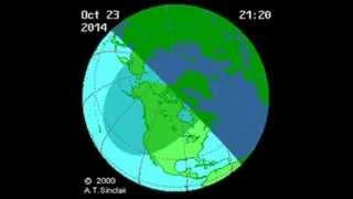 Anuncian Eclipse parcial de Sol para el 23 Octubre