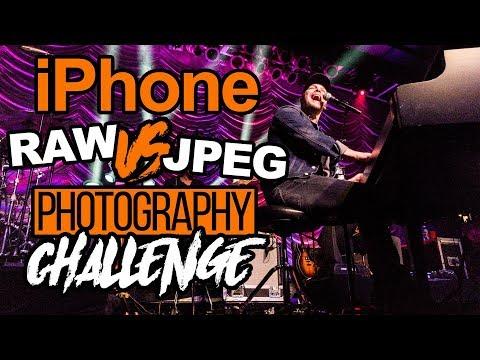 RAW vs JPEG iPhone Shootout   Concert Photography Challenge