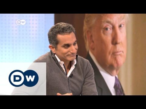 Bassem Yousef on satirizing Donald Trump | DW News