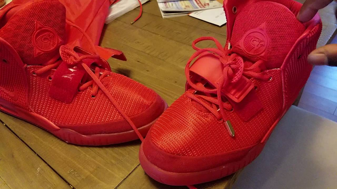 b5ee795a1ab2c Yeezy red October Dhgate - YouTube