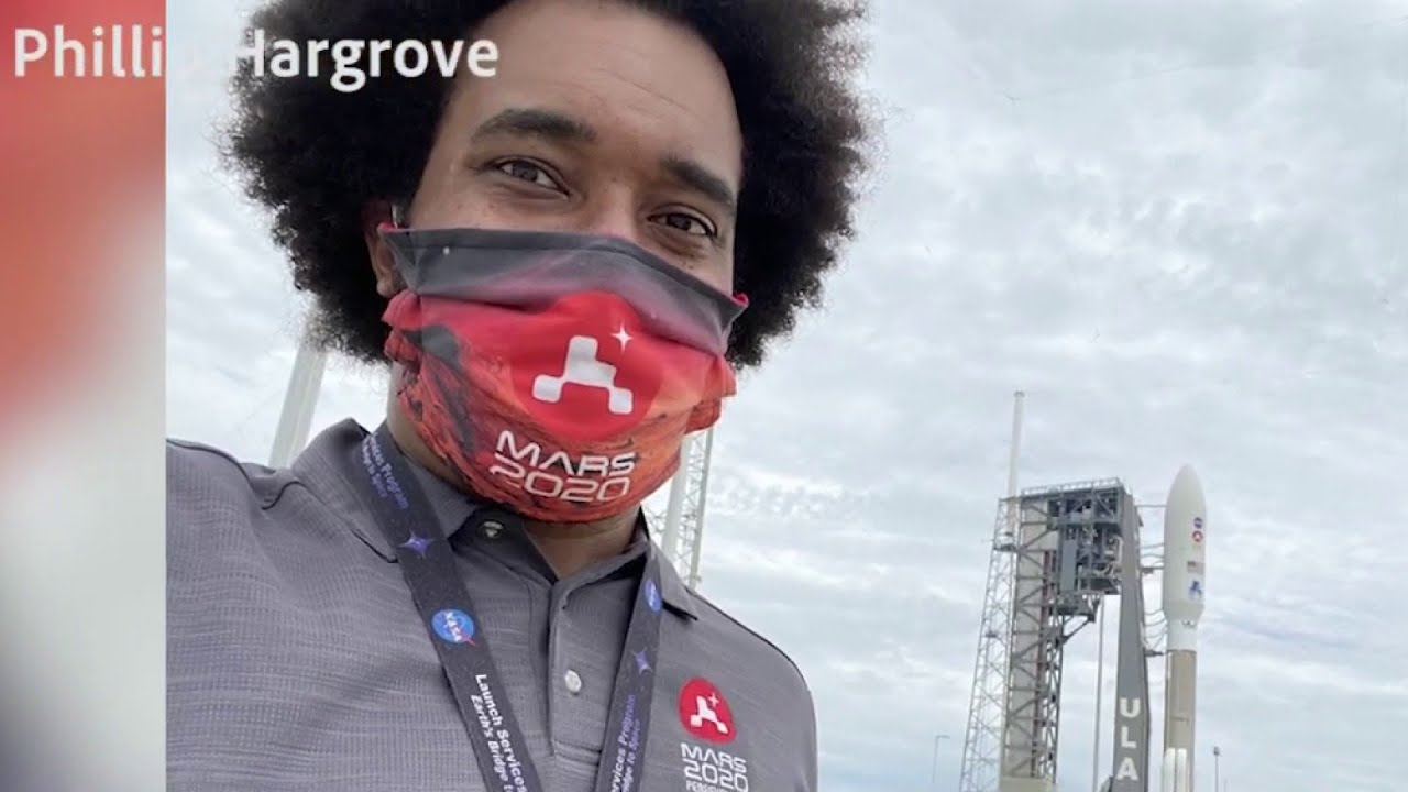 San Antonio native helps NASA launch rover to Mars