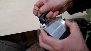 Несложный ремонт кофеварки инструментами которые есть у каждого хозяина