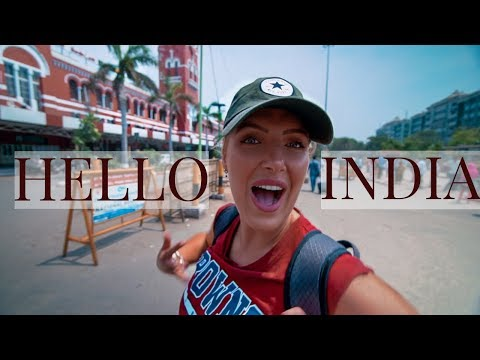 FIRST IMPRESSIONS OF INDIA | CHENNAI MADRAS