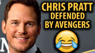 Avengers Cast CANCELED For Defending Chris Pratt????