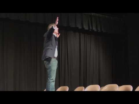 Jason Wright Visits Dixon Middle School in Provo, Utah