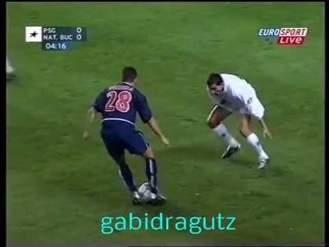 Filipe Teixeira, mai tanar cu 15 ani, in PSG - FC National, 14.11.2002, UEFA Cup
