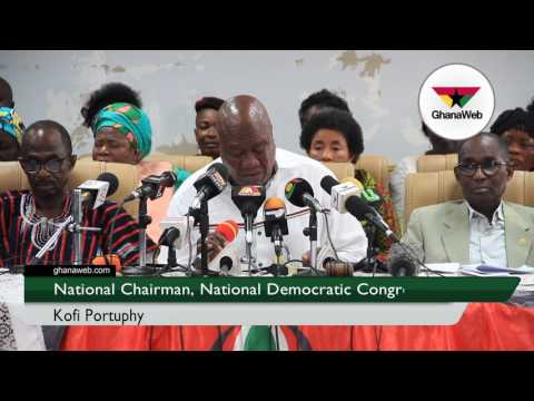 NPP's Invincible Forces caused Kintampo disaster - NDC