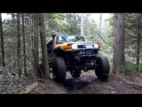 Build A Toyota >> Toyota FJ Cruiser Custom Build Extreme 4x4 Off-Road - YouTube