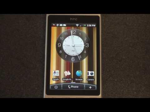 HTC Hero Widget Tour