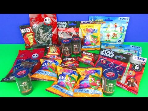 Ultimate Blind Bags Opening Tube Heroes Sonic Boom Star Wars Abatons NBX Minimates Toy Surprises
