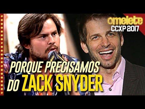 Por que precisamos de Zack Snyder e de podcasts (com Não Ouvo) | CCXP 17