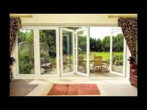 bi fold glass doors - YouTube