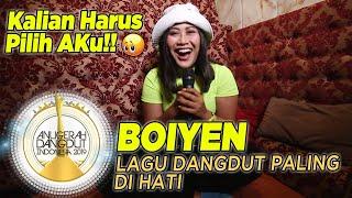 Boiyen Bahagia Banget Masuk Nominasi Lagu Dangdut Paling di Hati