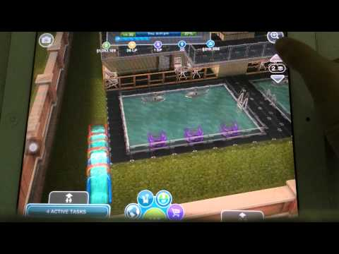 The Sims Freeplay – DIY Homes Dream Update – 4 Storey Hotel